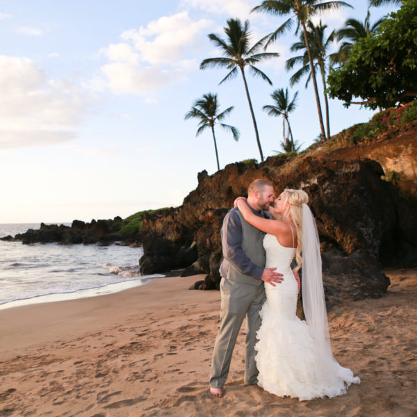 Whitney + Clinton: Gannon's Maui Wedding Santa Cruz Photographer