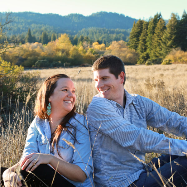 Jennifer + Andrew: Henry Cowell Redwoods Engagement Photography