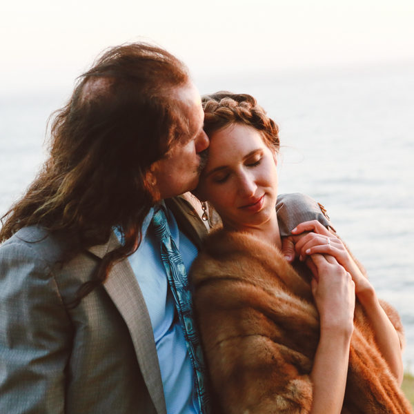 Kristin + Giorgio: Big Sur Wedding Photography