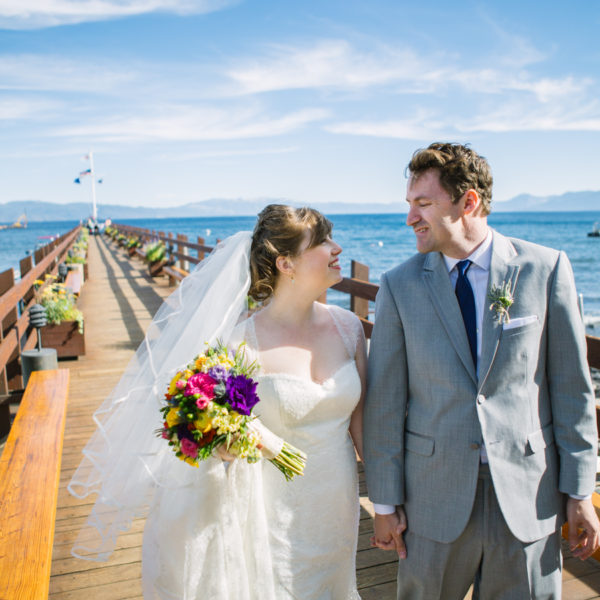 Danielle + Don: Tahoe Wedding Photography