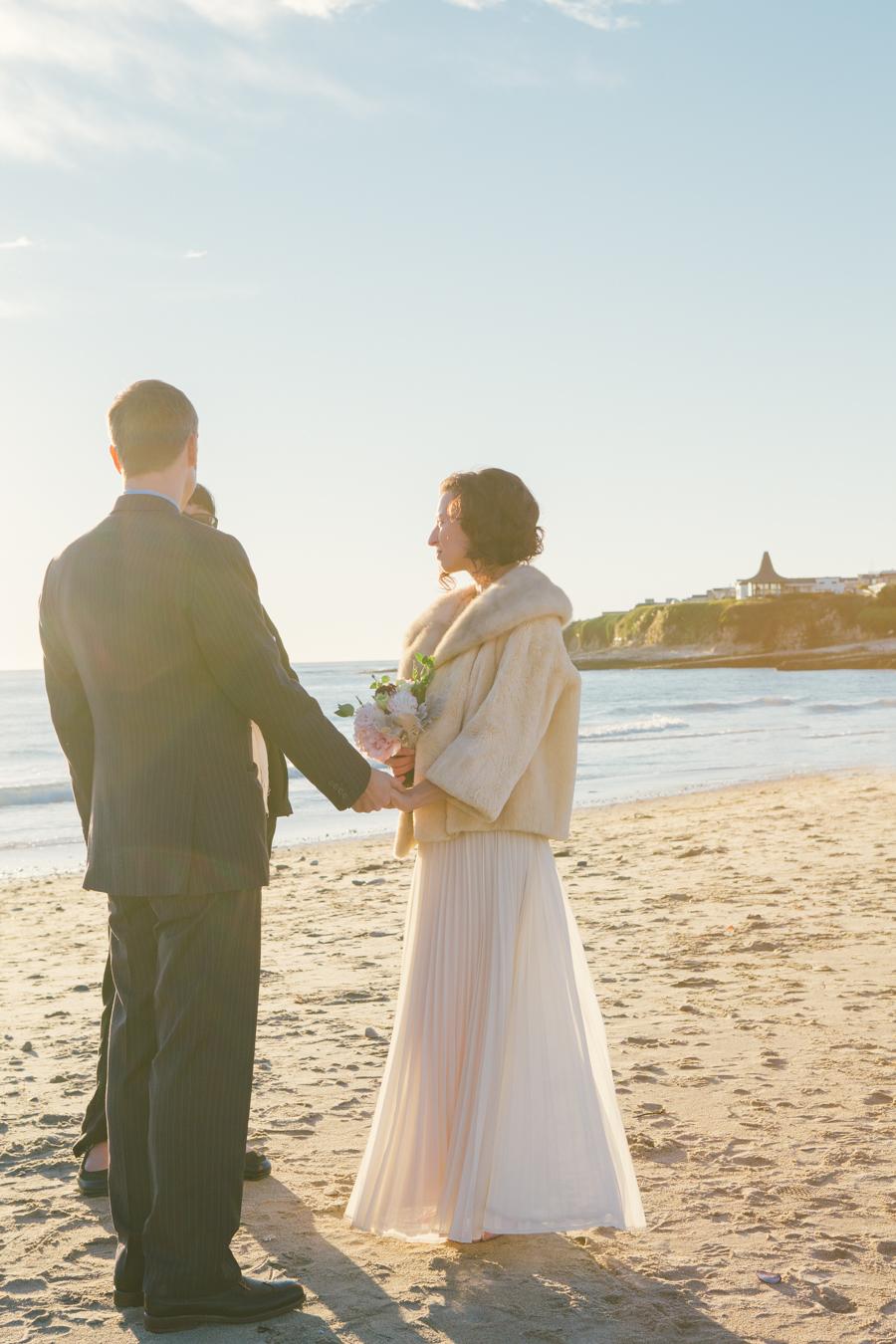 santa cruz beach wedding photography