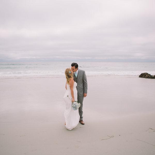 Chelsea + Matt: Monterey Elopement Photography