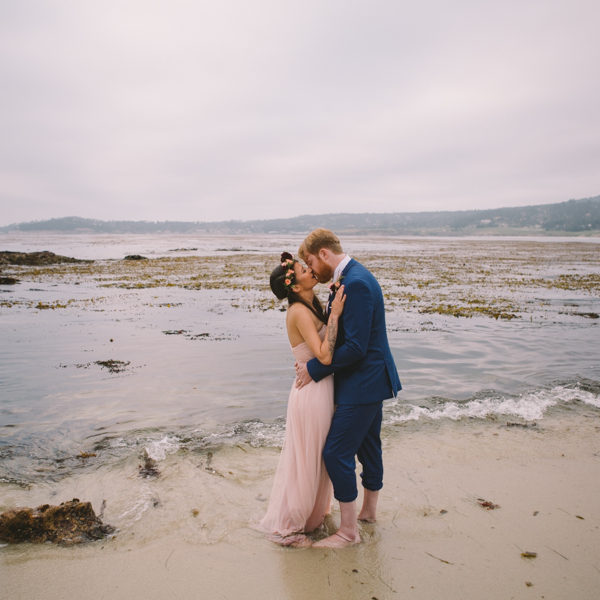 Lizz + Sean: Carmel Elopement Photography
