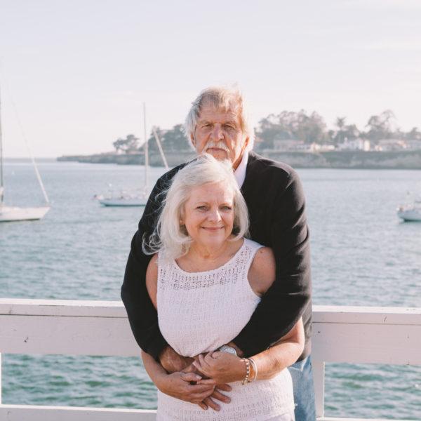 Jan + Murray: Santa Cruz Wharf Engagement Photography