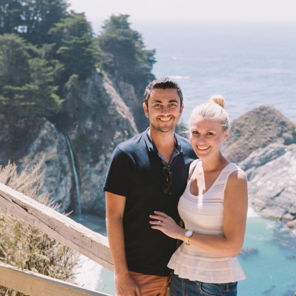 Jay + Jennifer: Big Sur Proposal Photography