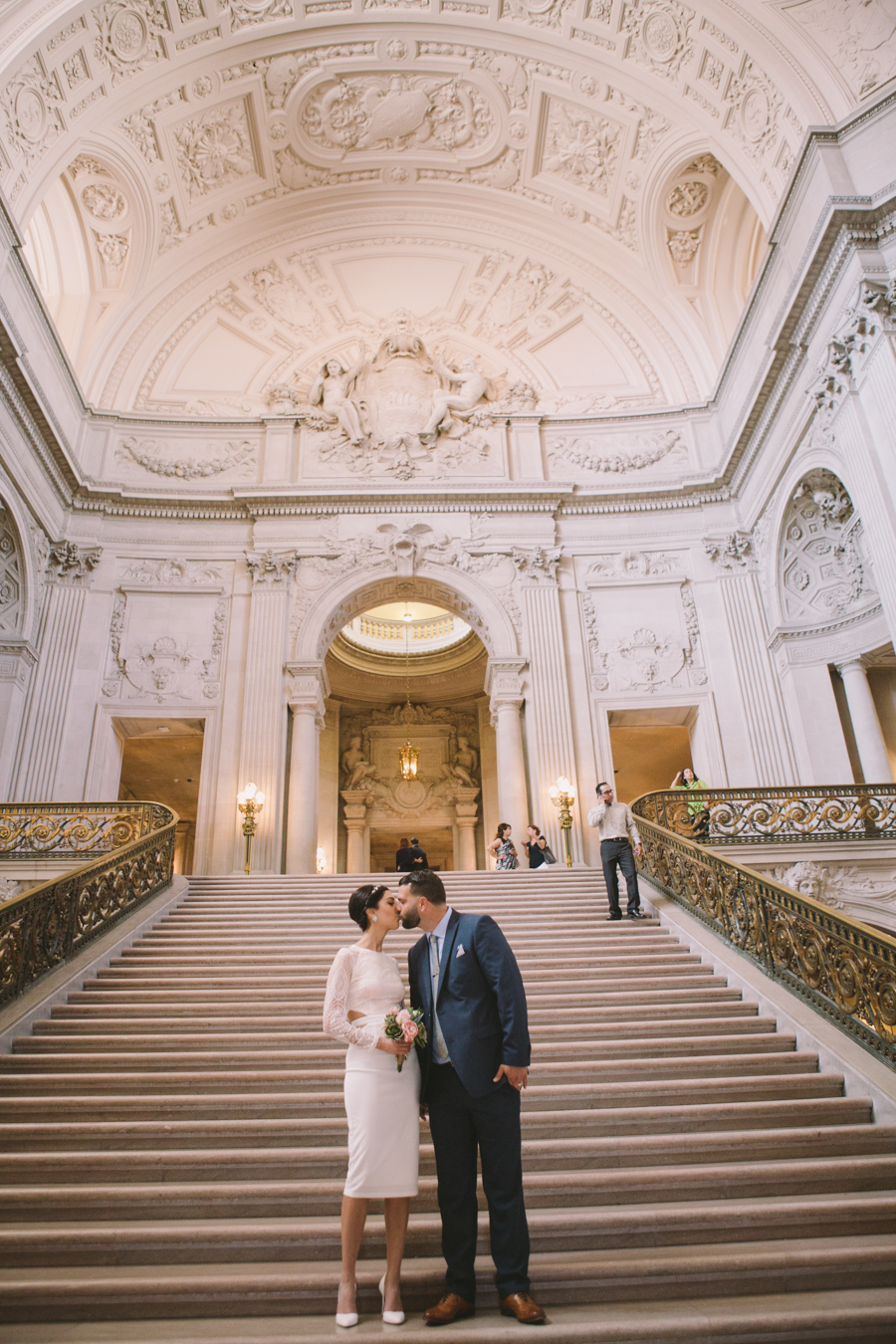 azadeh nick san francisco city hall wedding photography