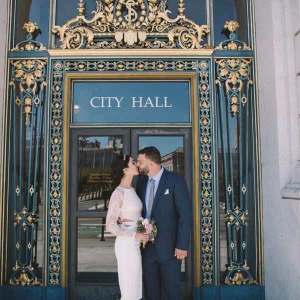 Azadeh + Nick: San Francisco City Hall Wedding Photography