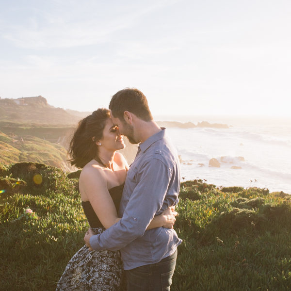 Carissa + TJ: Big Sur Engagement Photographer