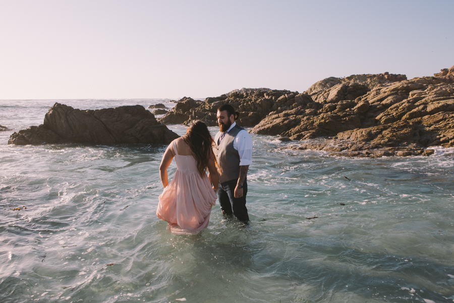 pebble-beach-engagement-photography