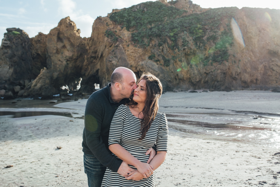 engagement photography big sur