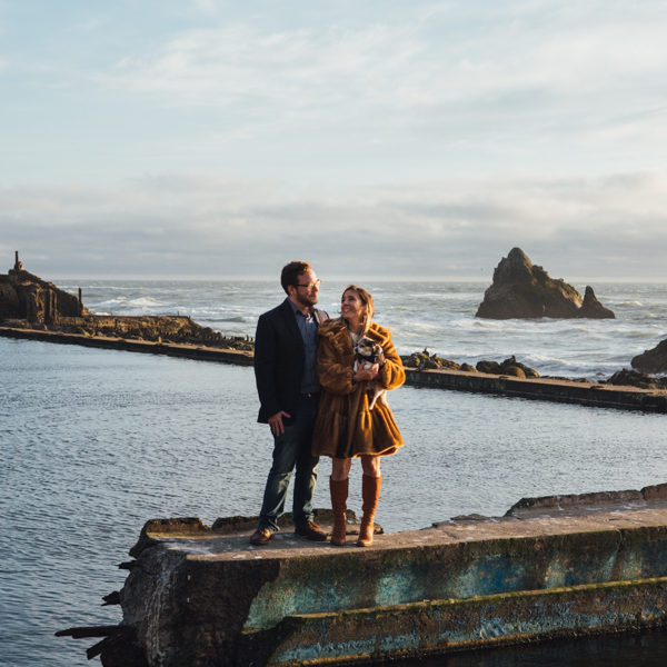 Alessandra + Brian: San Francisco Engagement Photographer