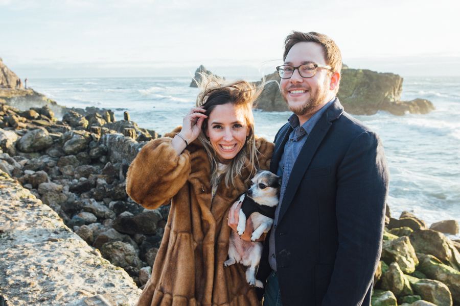 sutro baths engagement photography