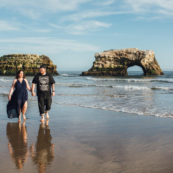 Lareesa + John: Engagement Photographer Santa Cruz