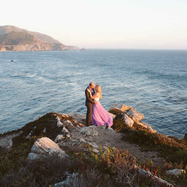 Ashley + Stephen: Big Sur Engagement Photography