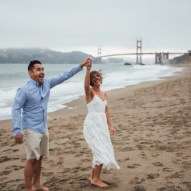 san francisco engagement session