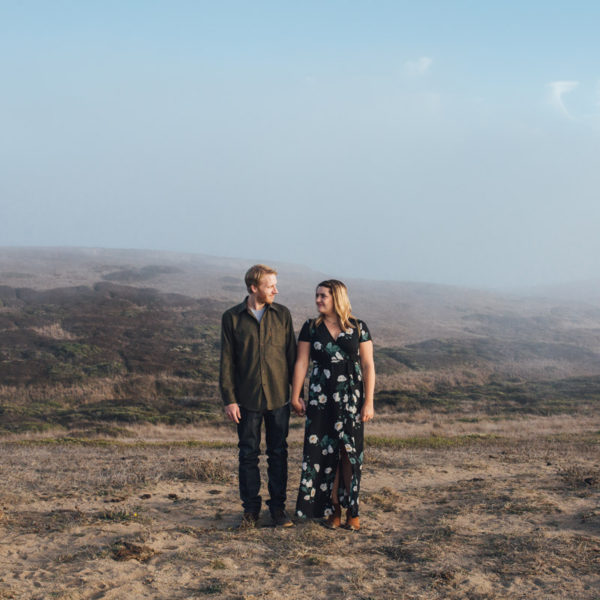 Cassie + Peter: Bolinas Engagement Photographer