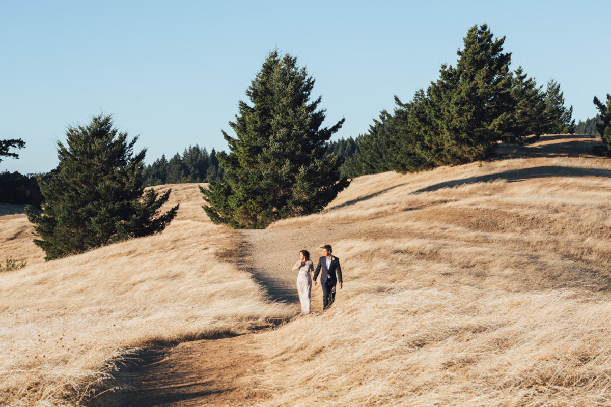 mt tamalpais elopement photography