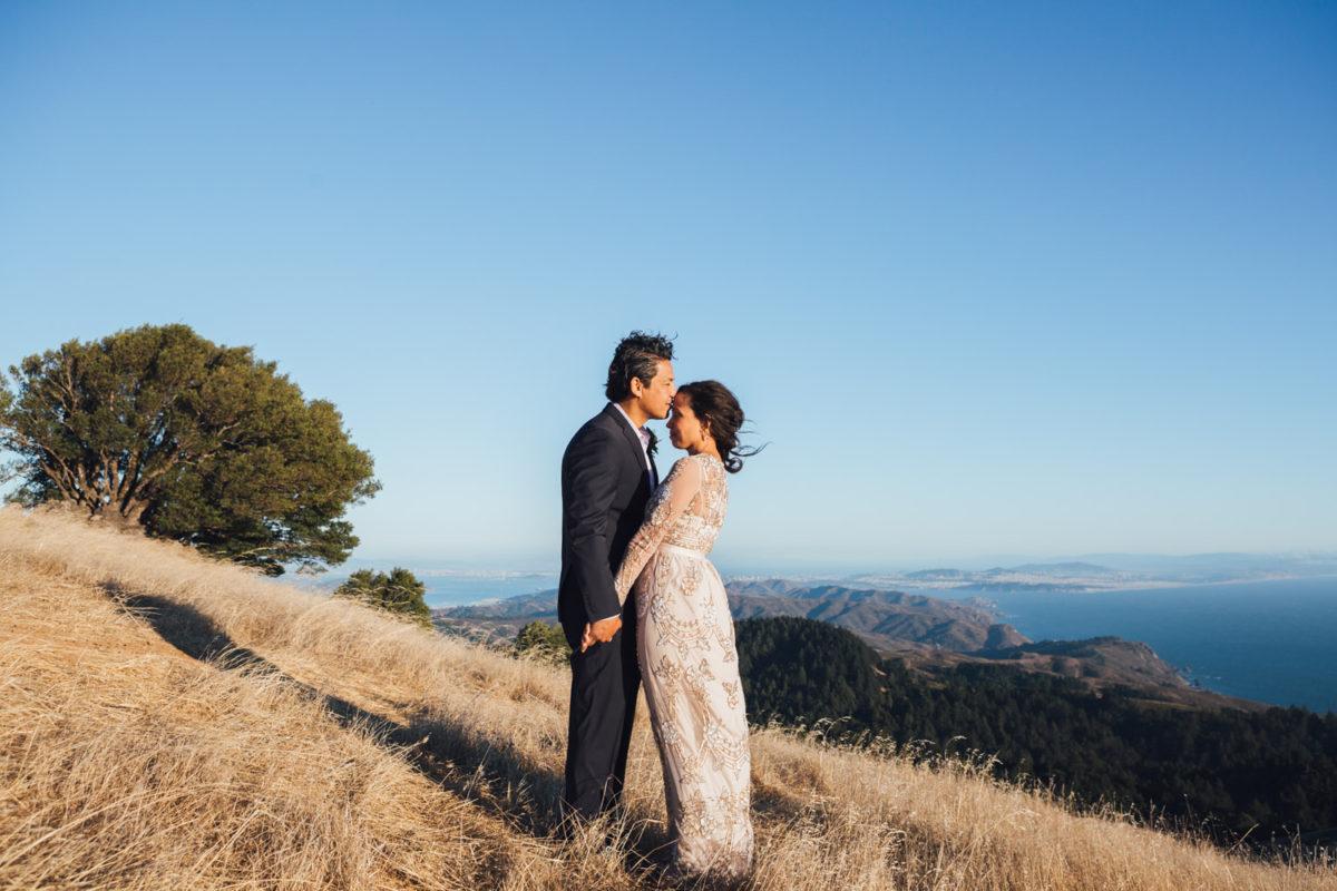 mt tamalpais elopement photography