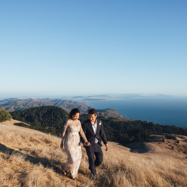 Jen + Temoor: Mt. Tamalpais Elopement Photography