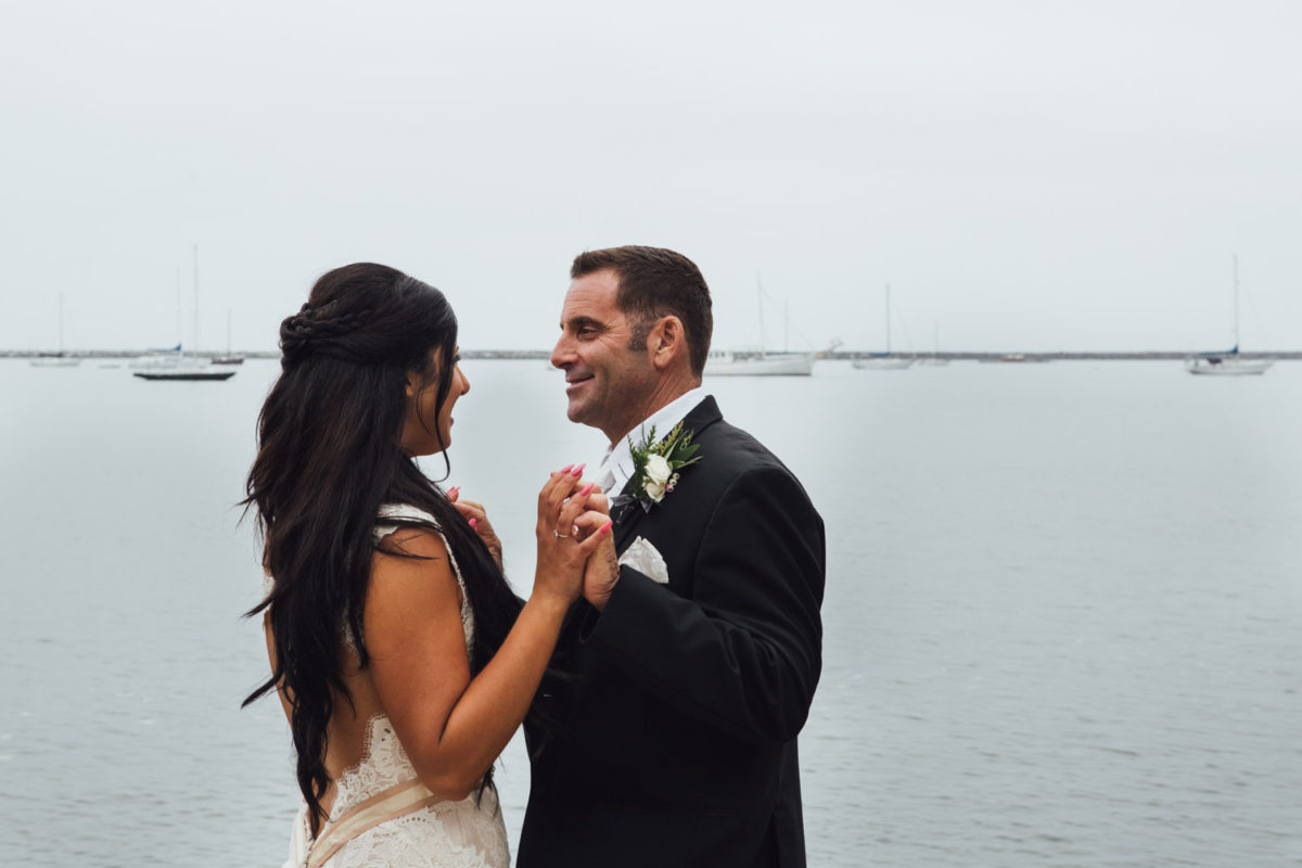 half moon bay wedding photography