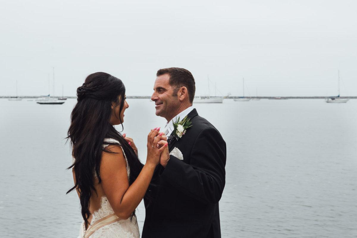 half moon bay wedding photography