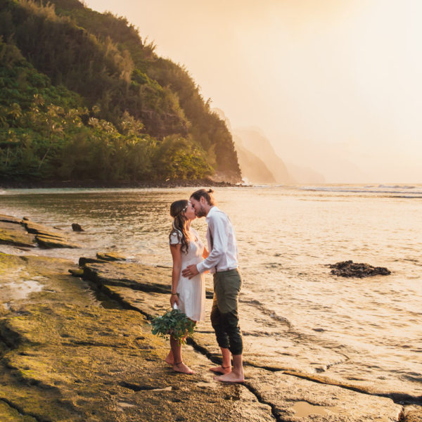Sam + Manuel: Kauai Elopement Photography