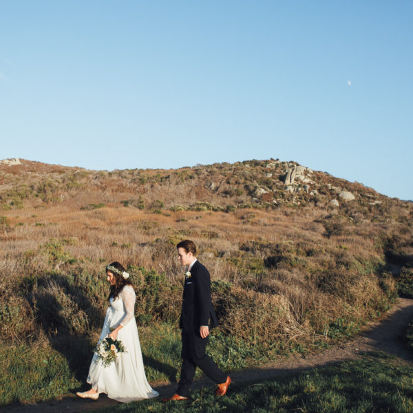 Melanie + Tristen: Carmel Elopement Photography