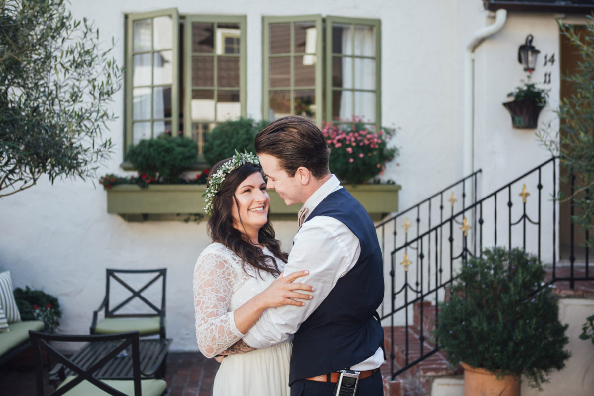 carmel elopement photography