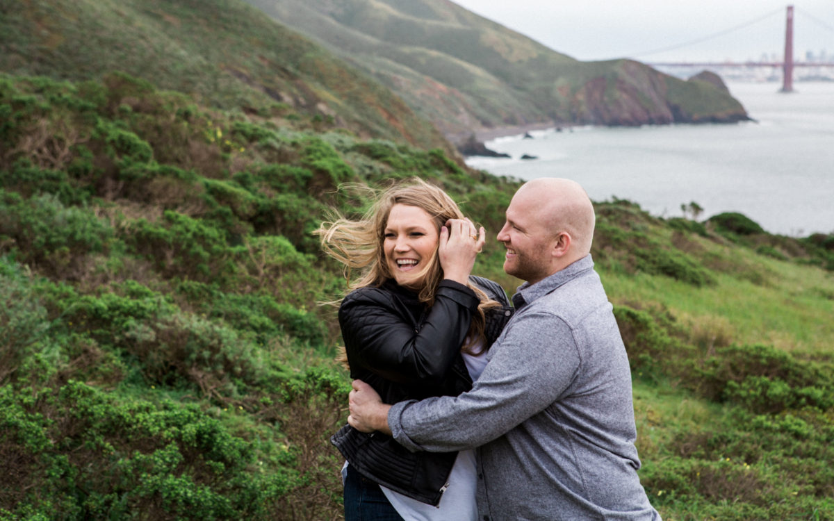 Casey + Craig: Marin Headlands Engagement