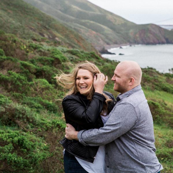 Casey + Craig: Marin Headlands Engagement
