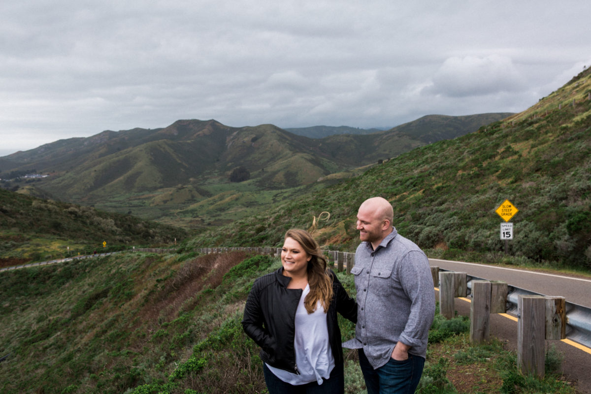 marin headlands engagement