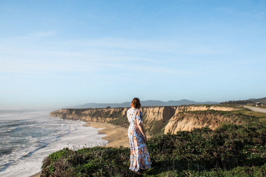 half moon bay engagement