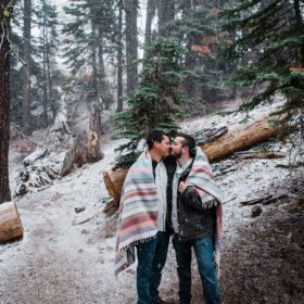 yosemite engagement session