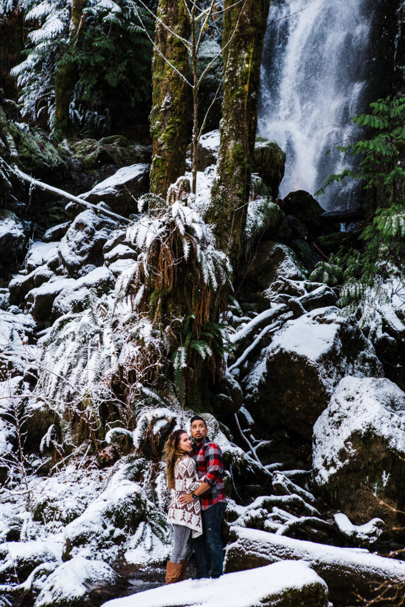 olympic national park adventure engagement