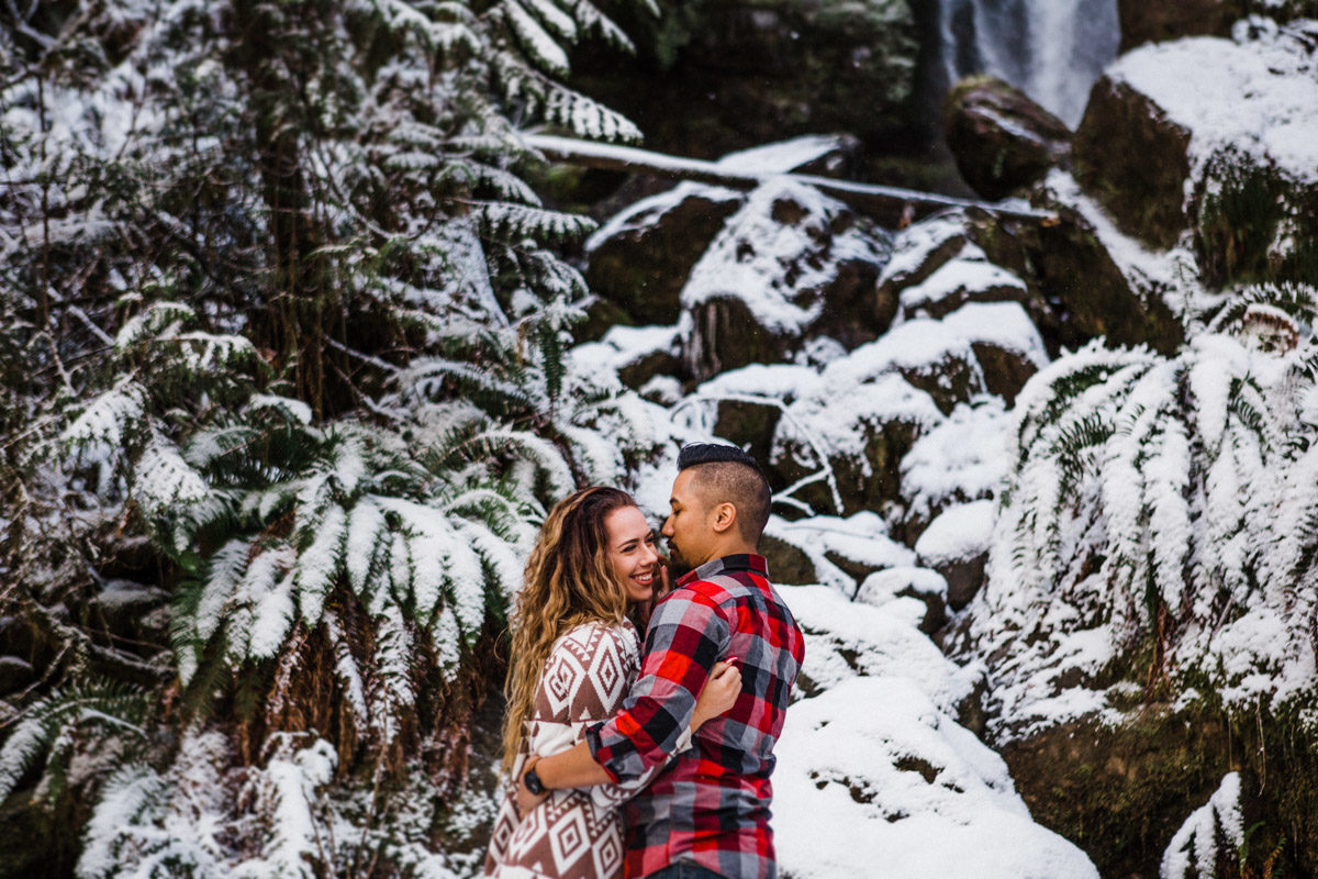 olympic national park engagement session