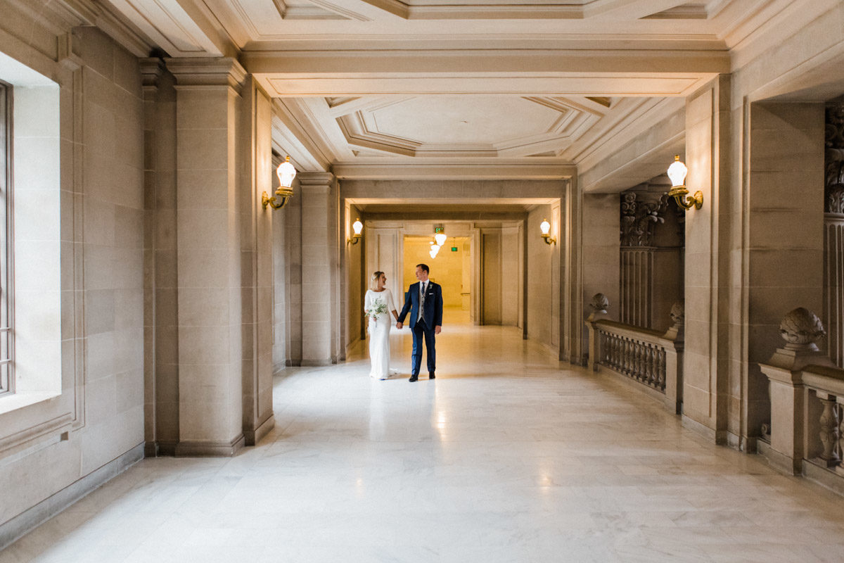 Mohammad + Sara : SF City Hall Elopement Photographer