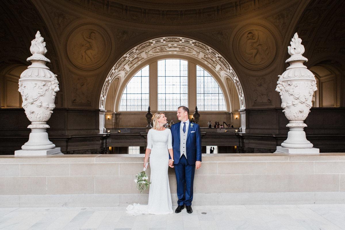 sf city hall elopement photographer