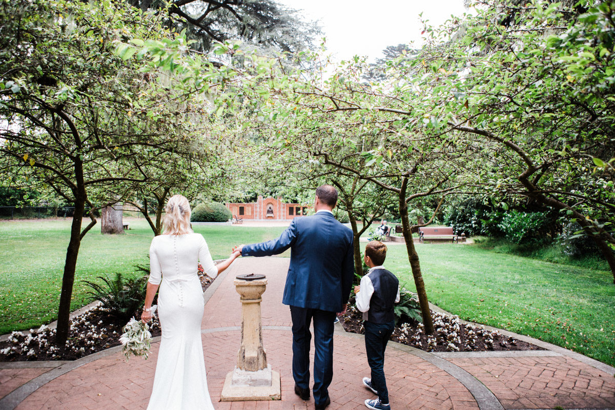 shakespeare garden wedding photographer golden gate park san francisco