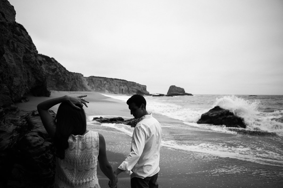 engagement sessions santa cruz wedding photographer