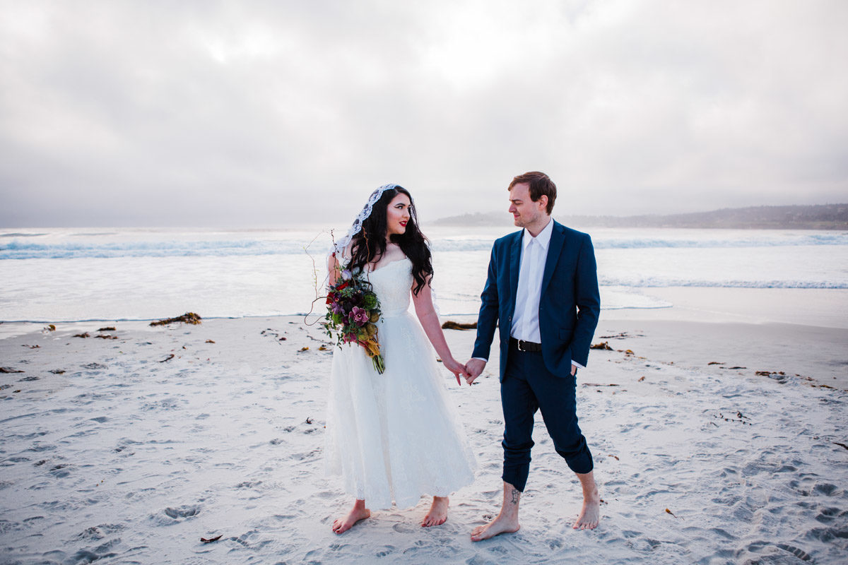 carmel elopement santa cruz photographer