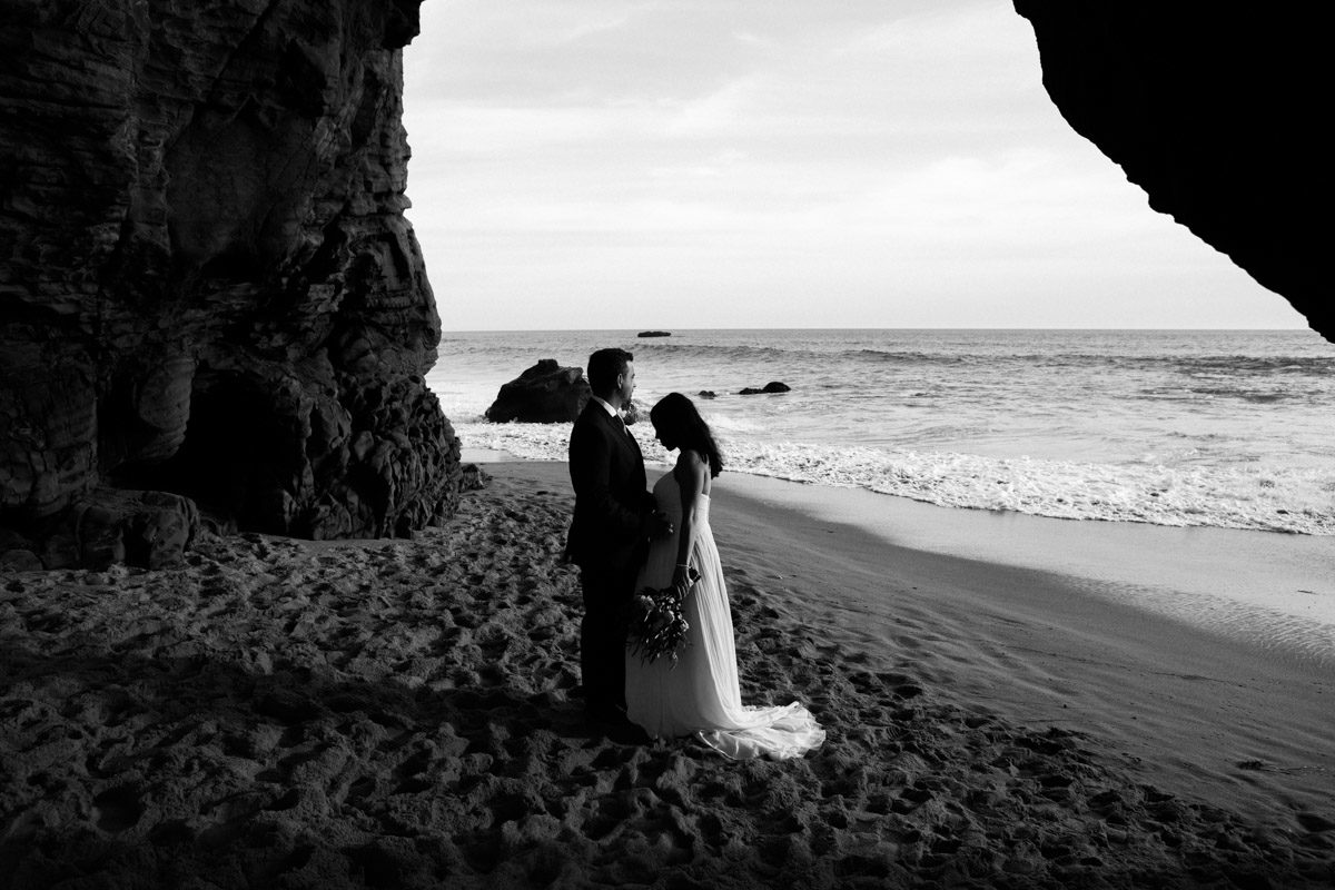 davenport elopement santa cruz wedding photographer