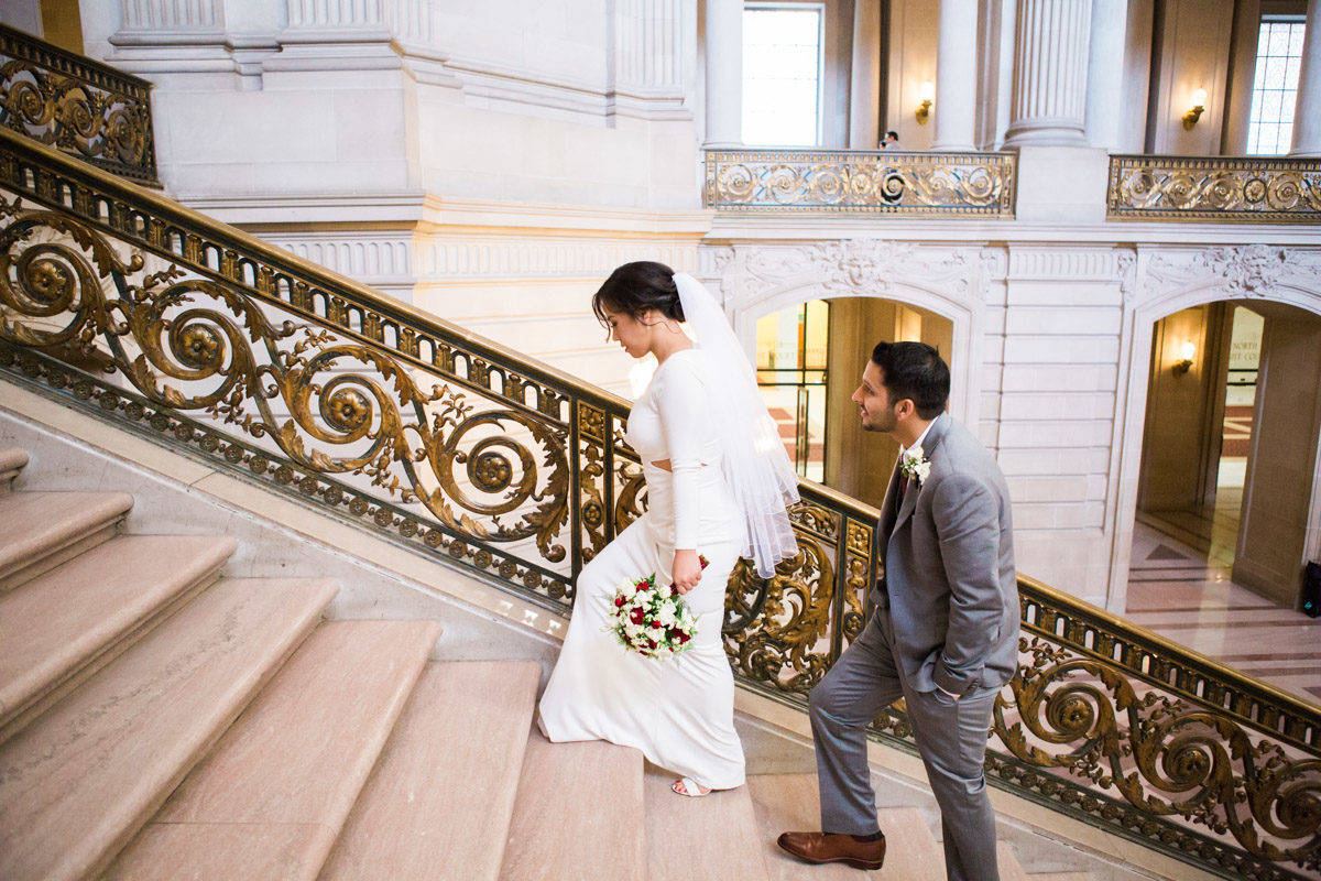 sf city hall santa cruz wedding photography