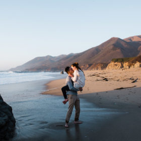 big sur engagement santa cruz wedding photographer