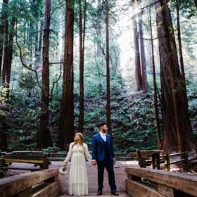 muir woods elopement santa cruz wedding photographer