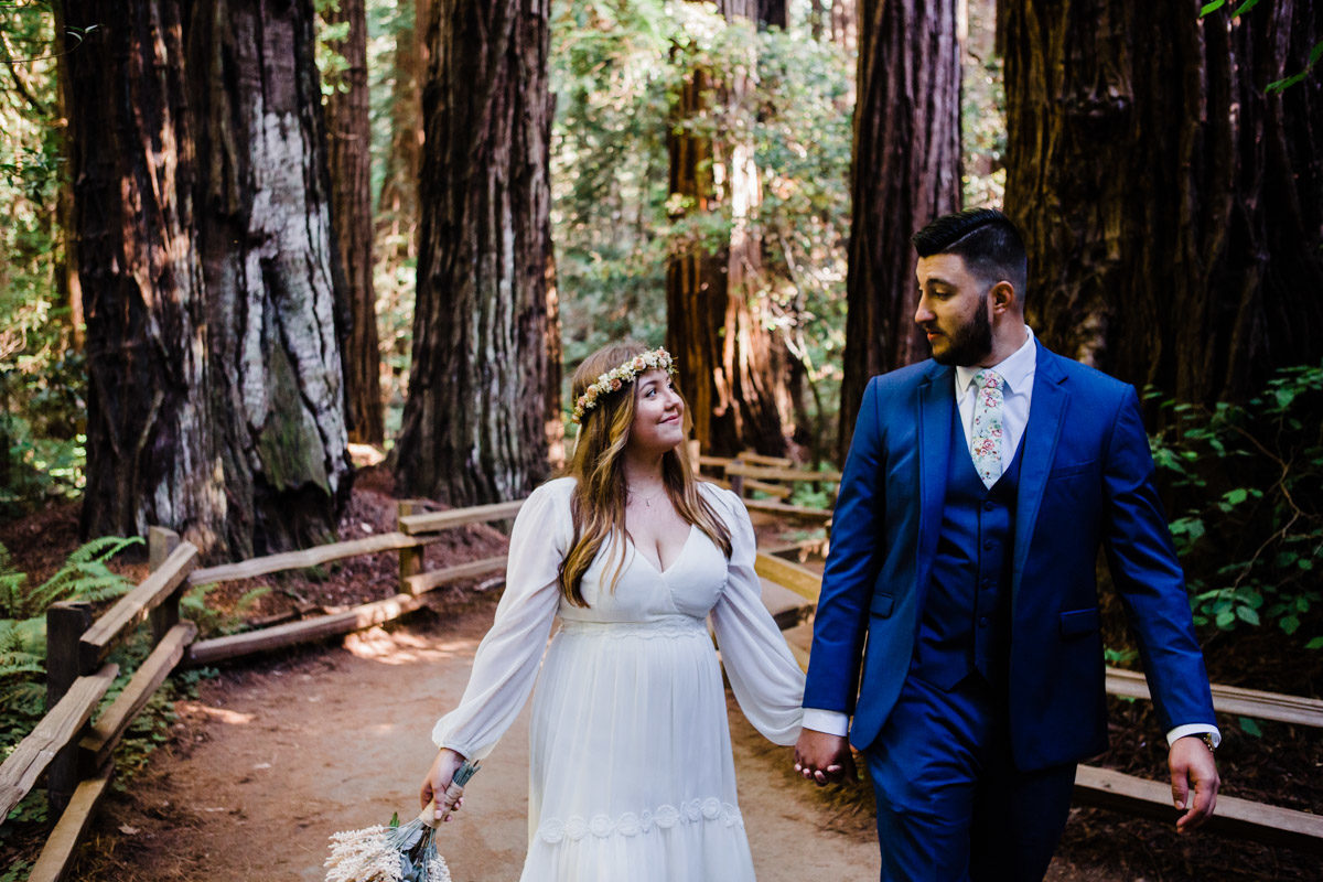 muir woods elopement santa cruz wedding photographer