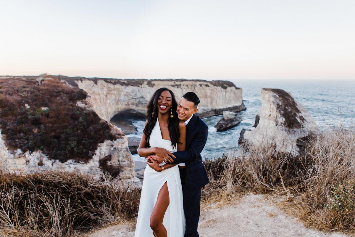santa cruz wedding photographer engagement session
