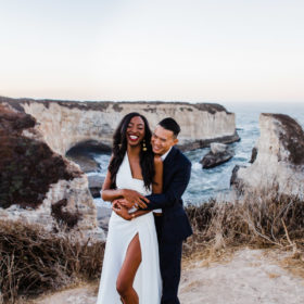 santa cruz wedding photographer engagement session