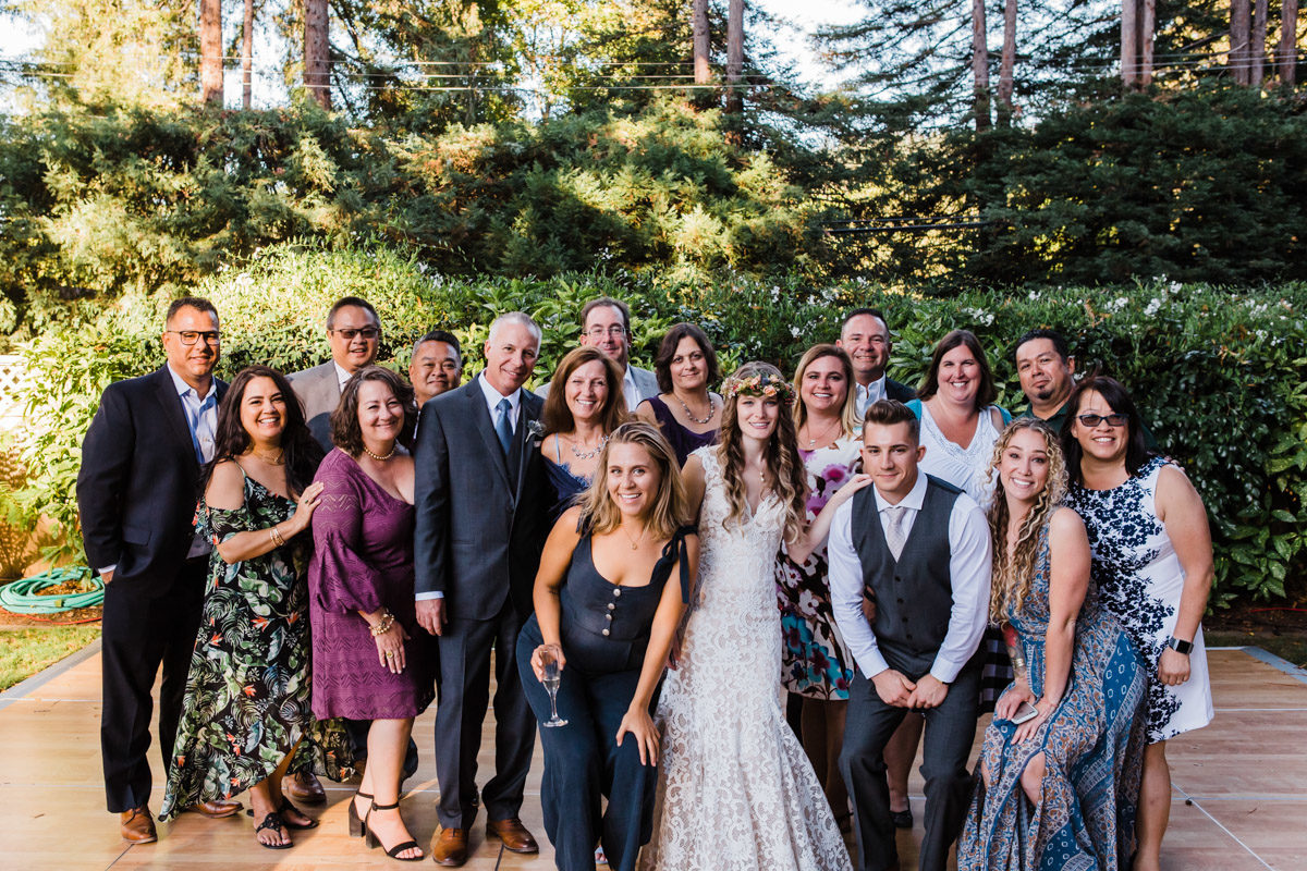 santa cruz wedding photographer felton guild