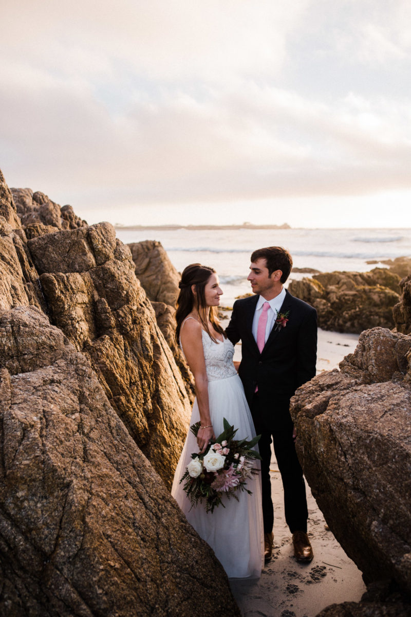 inn at spanish bay elopement
