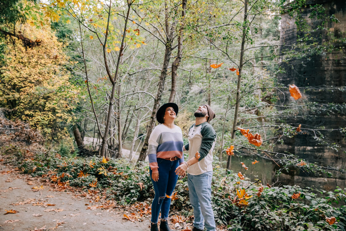 redwoods engagement photographer